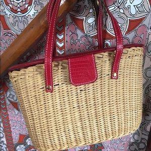 Cute Straw Basket purse